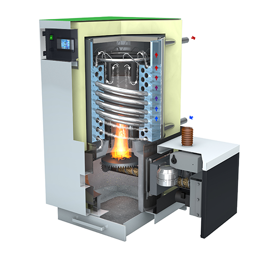 E-Compact Twist Heat Exchanger in Stainless Steel