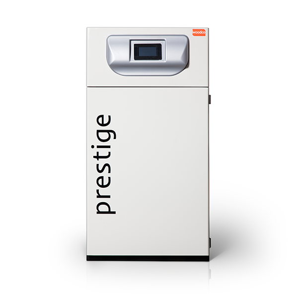Woodco's Prestige domestic wood pellet boiler