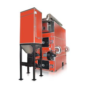 Woodco's Justsen range of large multifuel boilers