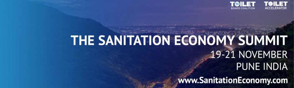Global Sanitation Economy Summit banner